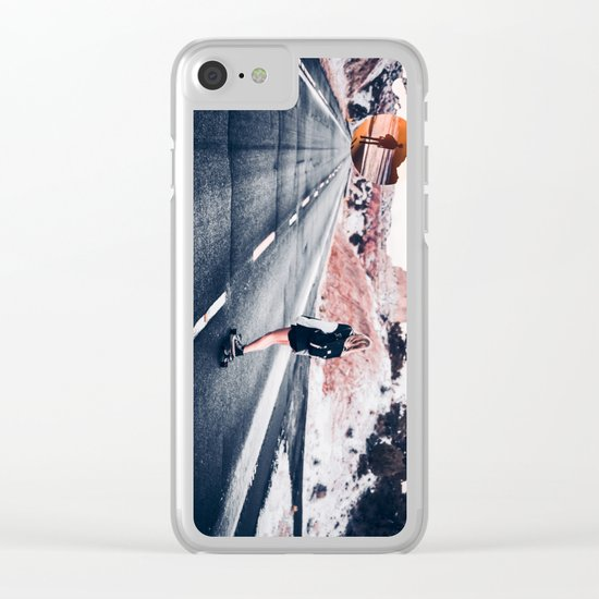 chase your dreams 2 Clear iPhone Case