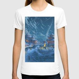 Winter Night  XL T-shirt