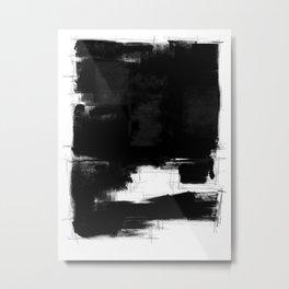 Black white theme #15a Metal Print