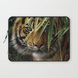 Tiger - Emerald Forest Laptop Sleeve