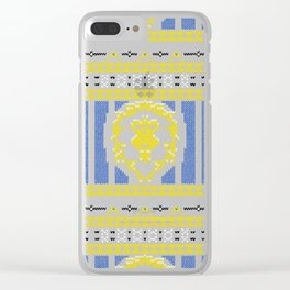Ugly Sweater 1 Clear iPhone Case