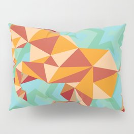 Dancing Mustang // Digital // Illustration Pillow Sham