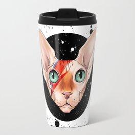 Sphynx Bowie Travel Mug