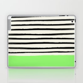 Key Lime x Stripes Laptop & iPad Skin