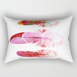 Bohemian feathers Rectangular Pillow