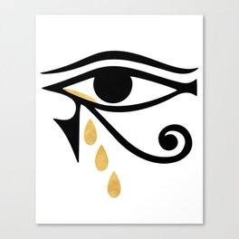 ALL SEEING CRY - Eye of Horus Canvas Print