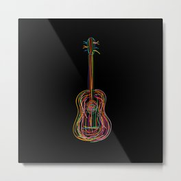 Color acoustic Metal Print