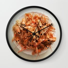 Arroz a la cubana Wall Clock