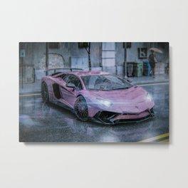 Super car Metal Print