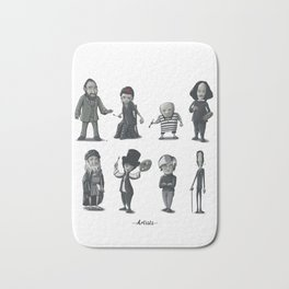 Artists Bath Mat