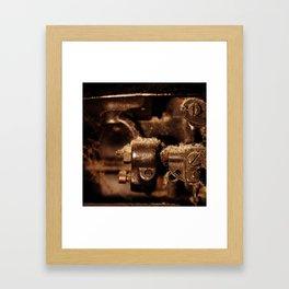 Type Two Framed Art Print