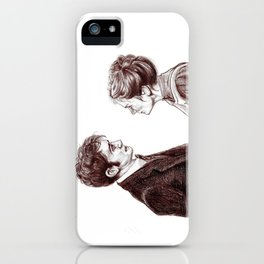 """""""Human Nature"""" Doctor Who Inspired Sketch iPhone Case"""