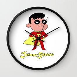 Johnny Strong Wall Clock