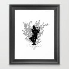 Flower of Scotland Framed Art Print