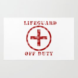 Lifeguard Off Duty Rug
