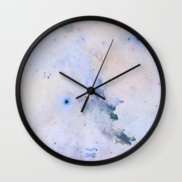 Witch Head Nebula Wall Clock