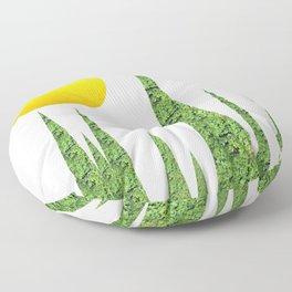 Evergreen Landscape Floor Pillow