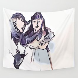 Los Caprichos ~ 7 ~ Even Thus Wall Tapestry