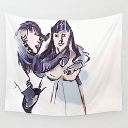Los Caprichos ~ 7 ~ Even Thus Wall Tapestry