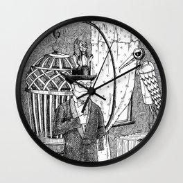 Metal Menagerie Wall Clock
