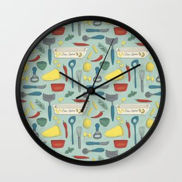 Italian Food Wall Clock