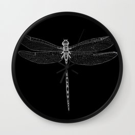 Night Flyer Wall Clock