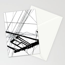 Wires #1 Stationery Cards