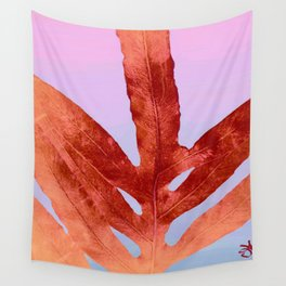 Green Fern Pantone 2016 Color of The Year Wall Tapestry