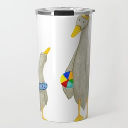 The ducks day out! Travel Mug