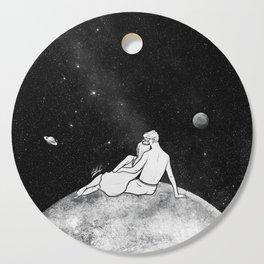 The greatest moon. Cutting Board