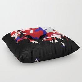 Genius in disguise art print Floor Pillow