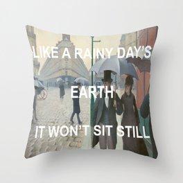 Paris Control Throw Pillow