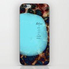 affirmation... iPhone & iPod Skin