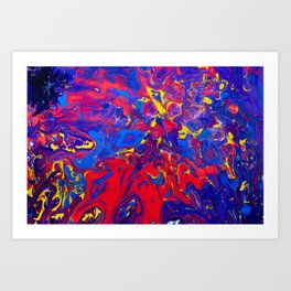 play of color Art Print