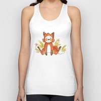 relax Tank Tops featuring Relax by Pencil Box Illustration