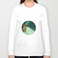 sasquatch Long Sleeve T-shirts featuring Sasquatch by John D'Amelio