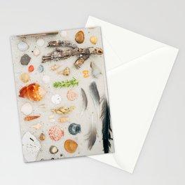 Seashore Flat Lay Stationery Cards