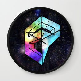 Inner Galaxy EP Logo Wall Clock