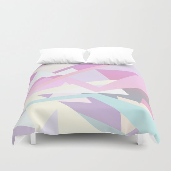 Pastel Pop Duvet Cover