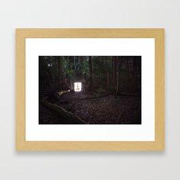 From The Woods Framed Art Print