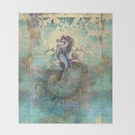 The Seahorse Diary Throw Blanket