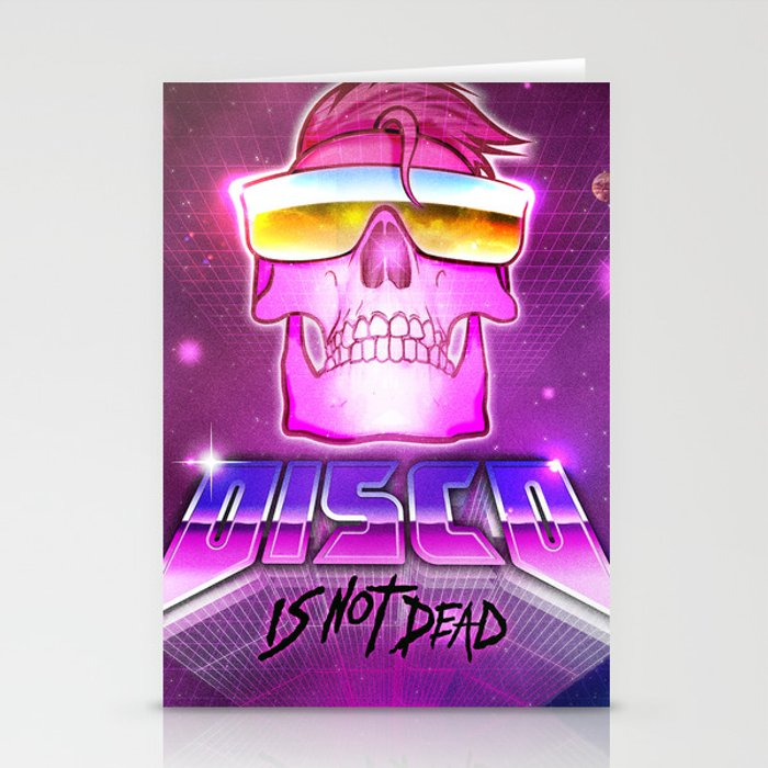 Disco is not dead Stationery Cards