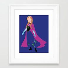 Princess Anna Framed Art Print