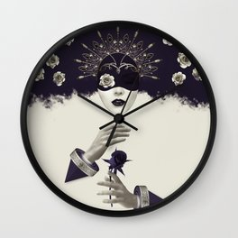 Divine Beauty Wall Clock