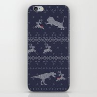 sweater iPhone & iPod Skins featuring Ugly Sweater by Sarinya  Withaya