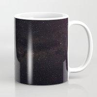 milky way Mugs featuring Milky Way by Gunjan Marwah