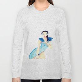 fascinating girl Long Sleeve T-shirt