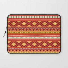 Tribal #5 * Ethno Ethnic Aztec Navajo Pattern Boho Chic Laptop Sleeve