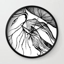 Speaking Wood Wall Clock