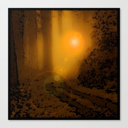 The Forest (4:33am) Canvas Print